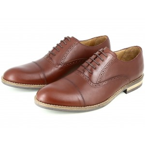 Chaussures homme Richelieu en Cuir Cognac BELYM 3735