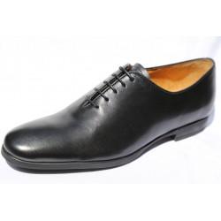 Chaussures De Ville Homme Richelieu Noir Cuir