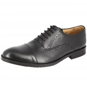 Chaussures Homme de ville en cuir Noir Belym