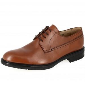 Chaussures Homme de ville en cuir Marron Belym 2726