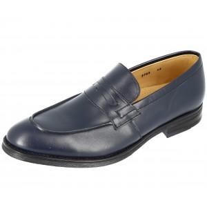 Chaussures Homme Richelieu en cuir Bleu marine
