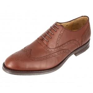 Chaussures Hommes Richelieu en cuir Marron Belym