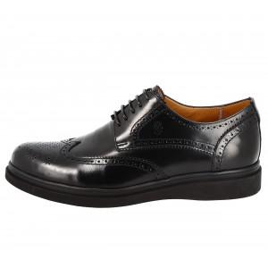 Chaussure Homme derby en cuir verni Noir