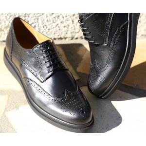 Chaussure Homme Derby en cuir Noir