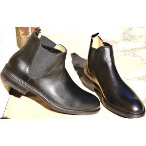 Chaussures Boots homme en noir