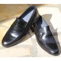 Chaussures Hommes Richelieu en cuir verni noir