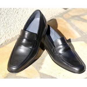 Chaussures Homme Richelieu de ville en cuir noir