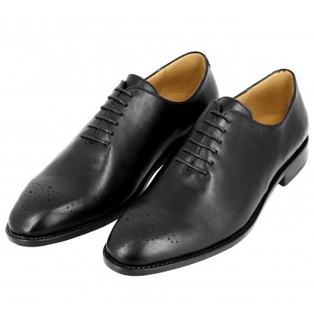 Chaussure Homme Richelieu de ville en cuir noir
