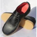 Belym Chaussure Homme Bataeux Cuir Noir