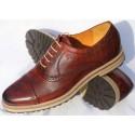 Belym Chaussure Homme Derby Cuir Marron