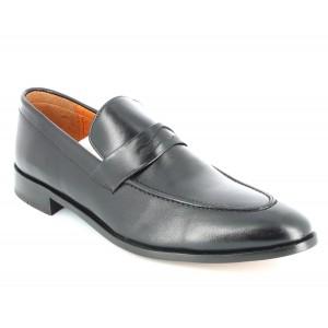 Chaussure De Ville Richelieu Homme En Cuir Noir
