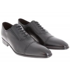 Belym chaussure homme de ville richelieu en cuir noir