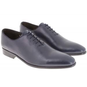 belym chaussure homme richelieu en cuir bleu marine