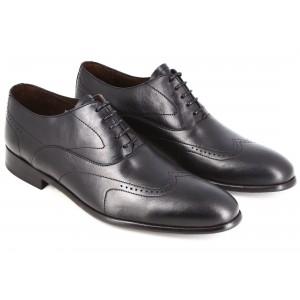 Belym Chaussures Homme De Ville En Cuir Noir