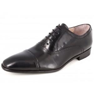 Belym Chaussure De Ville Homme En Cuir Noir